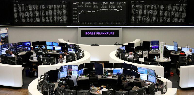 European shares slump as coronavirus fears worsen