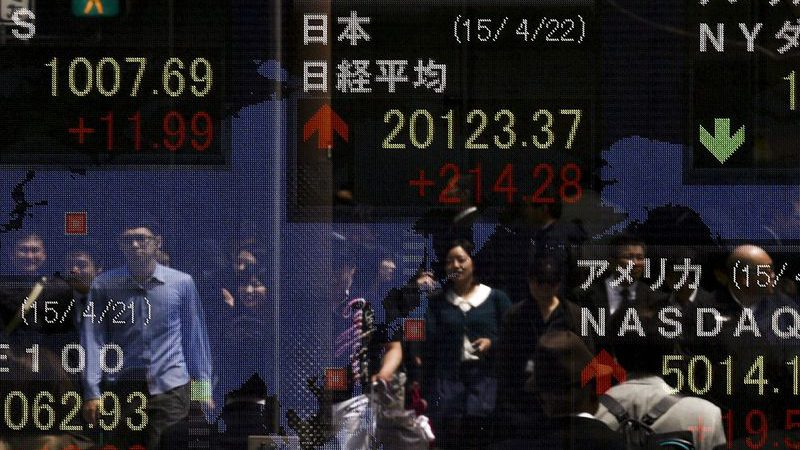 Asian Stocks Mixed as Volatility Continues