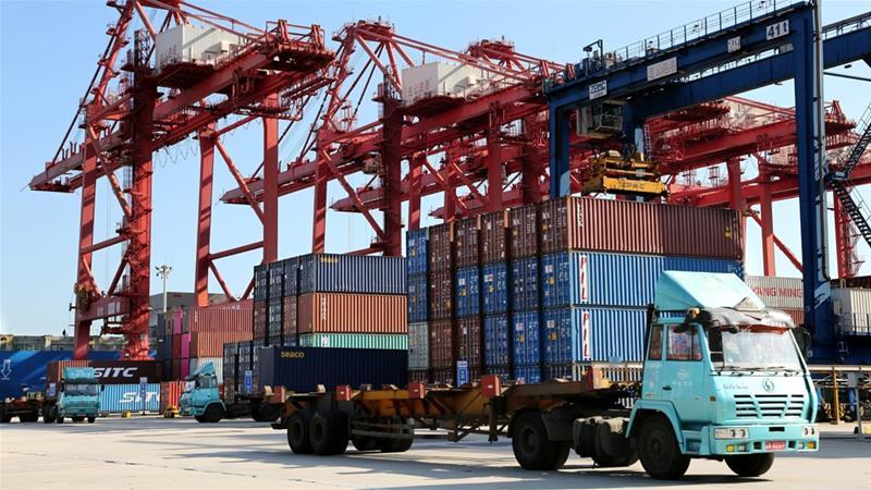 Japan exports slump as coronavirus hits U.S., Chinese demand