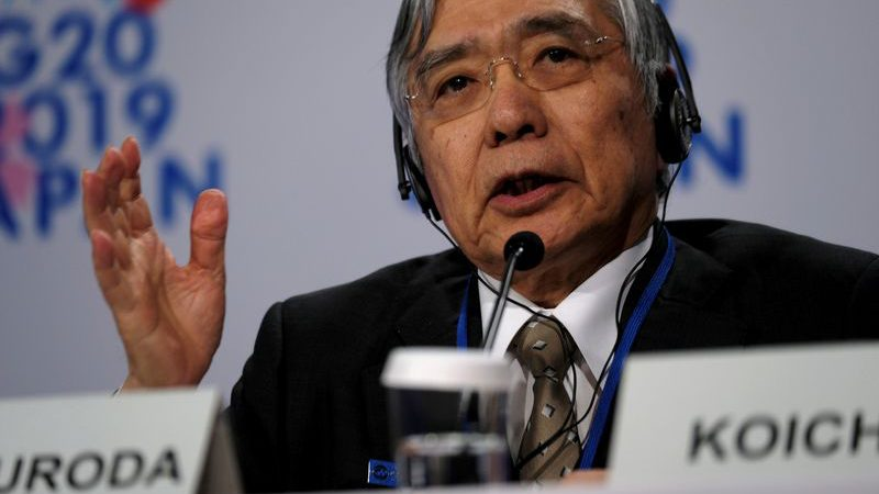 Kuroda says Bank of Japan will do 'whatever it can' to beat pandemic fallout