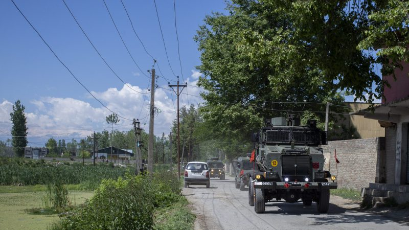 Indian troops kill militants, triggering clashes across Kashmir