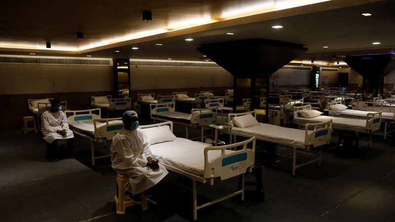 Indian capital readies vast quarantine centre as coronavirus cases mount