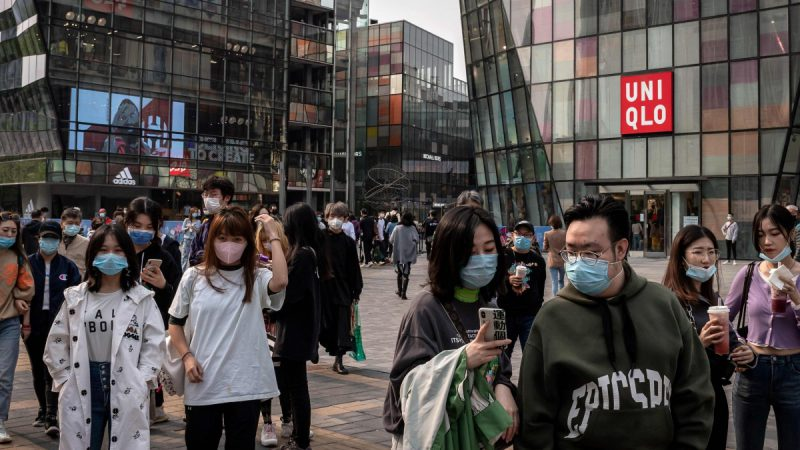 China's retail sales unexpectedly fall as consumer caution prevails
